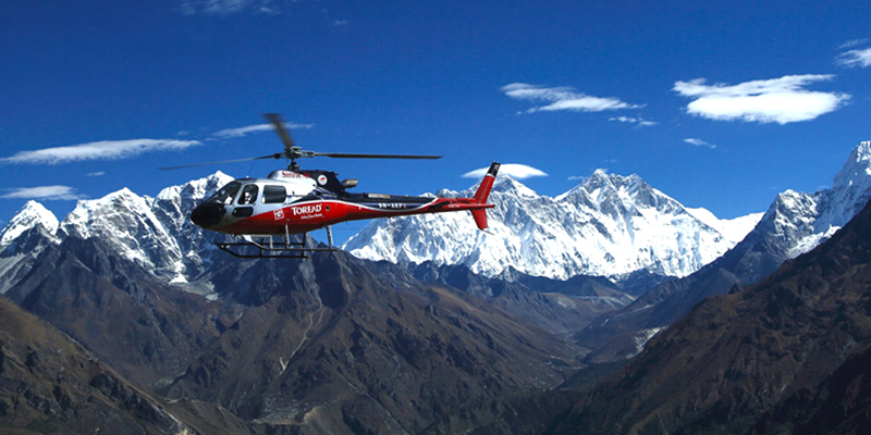 Everest Base Camp Helicopter Tour, Everest Helicopter Tour, Everest Base Camp Helicopter Landing Tour