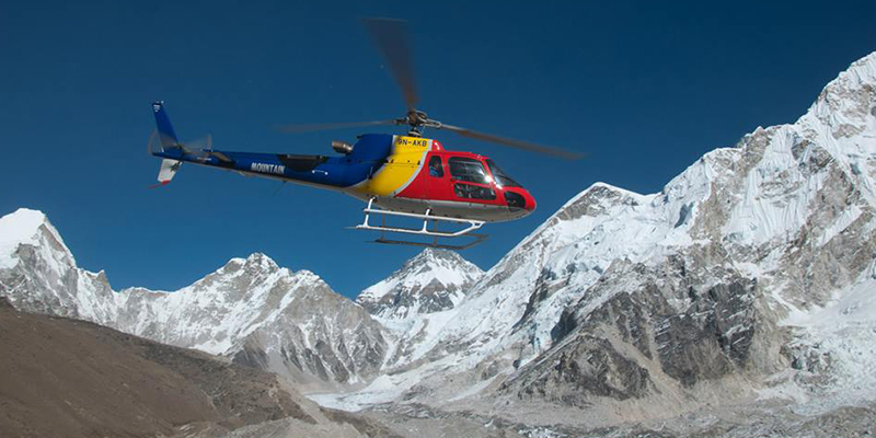 Everest Base Camp Helicopter Tour, Everest Helicopter Tour, Day tour to Everest
