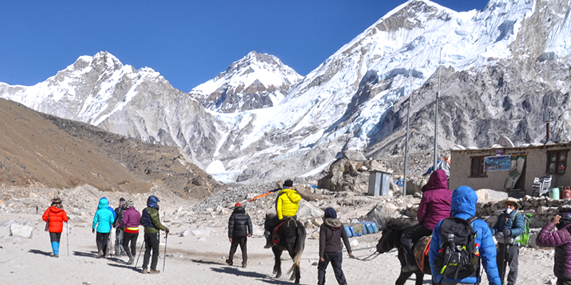 Everest Base Camp Best time of the year, Everest Base Camp Trek