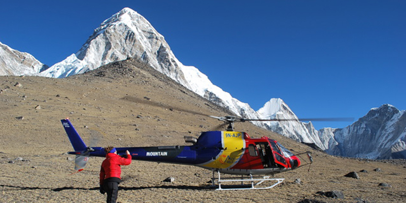 Everest Base Camp Helicopter Tour, Day Tour to Everest, Everest Base Camp Helicopter Landing tour