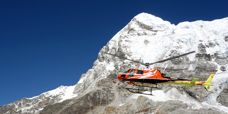 Everest base camp Helicopter Tour, EBC helicopter landing tour cost