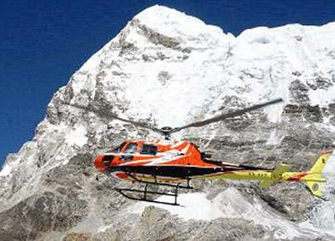 Everest base camp Helicopter flight landing tour itinerary