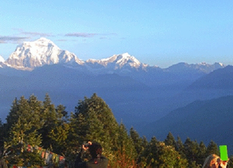 Ghorepani Poon Hill trek in December
