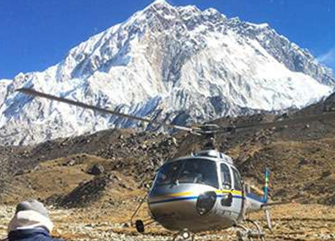 The Real Adventure of Helicopter Tour to Everest Base Camp
