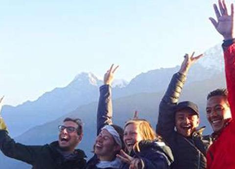 Trekking in Nepal in Monsoon Season