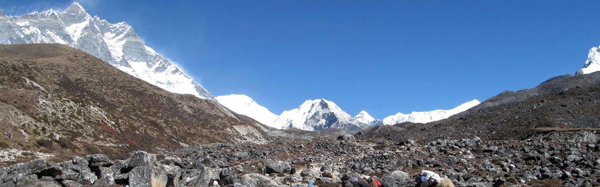 Everest Base Camp trek in winter