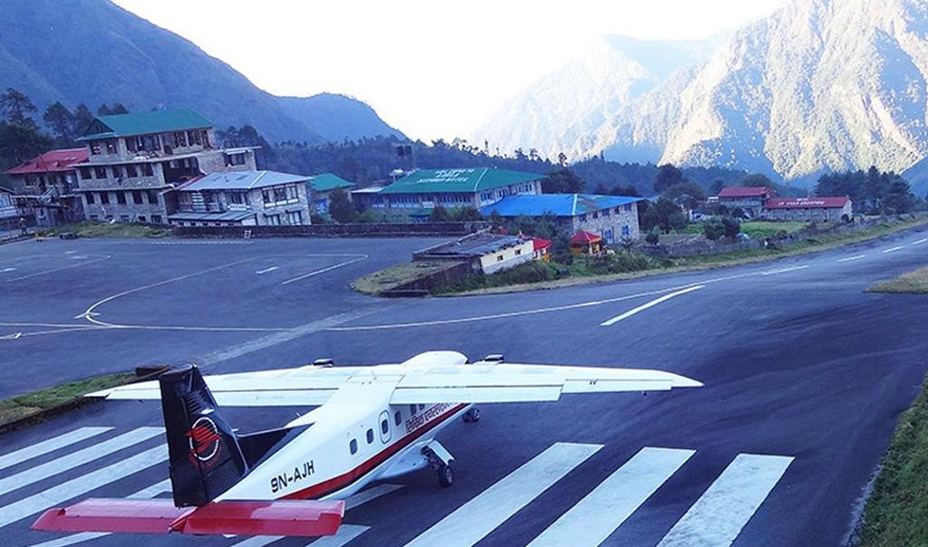 Kathmandu Lukla, Lukla Kathmandu Helicopter Flight