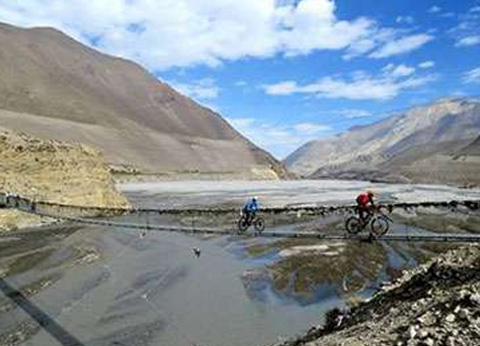 Muktinath Pokhara Cycling
